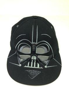 52da9312a04 Darth Vader Star Wars Fitted Big Face Hat Cap 7 1 8 1 4