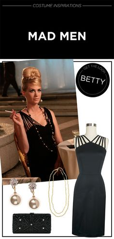 GET THE LOOK: Betty from Mad Men! Read more on Trashy Diva's TV & Film Costume Inspirations blog.