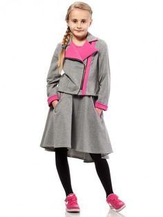11f738cb85ba Fustă de copii pentru fetițe KIDIN - gri · GriKids FashionChild ...