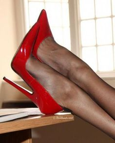 Every so typically it occurs that you end up purchasing the incorrect pair of sh… Immer wieder kommt es vor, dass Sie ein falsches Paar [. Red High Heel Shoes, Platform High Heels, Black High Heels, High Heels Stilettos, Stiletto Heels, Pantyhose Heels, Stockings Heels, Sexy Legs And Heels, Hot Heels