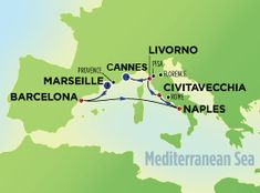 7-Day Western Mediterranean from Marseille on Norwegian Epic Cruise sailing Saturday to Saturday itineraries
