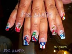 13 Best Puerto Ricans Nails Style Images On Pinterest Puerto