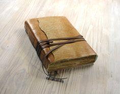 Leather Journal Notebook Diary in Brown Vintage door MedievalJourney