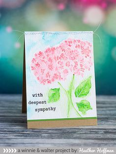 winnie & walter blog: In Bloom   Watercolor with Heather H.