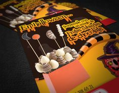 Diseño de Tarjetón :::  Tarjetón Halloween - Fruchetta :::  Realizado para: Martín Alba & Asociados
