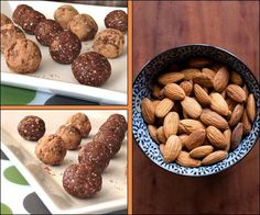 Cocoa Cookie Dough Balls by @DreenaBurton + giveaway of her new book! Enter to win! #vegan