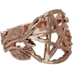 Pamela Love Rose Gold-plate Pentagram Ring at Barneys.com