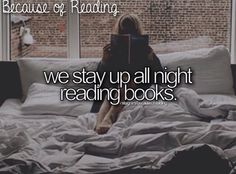 I have lost many hours of sleep, because of reading! xD