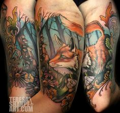 Tattoo by Teresa Sharpe - Best tattoo artist ever. If she doesnt win Best Ink I will be pissed