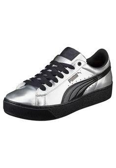 7b9771baae9caf Puma VIKKY PLATFORM METALLIC - Sneakers basse - puma silver puma black a €  75
