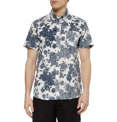 Saturdays Surf NYCEsquina Floral-Print Cotton Shirt MR PORTER