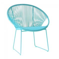 Woven Lounge Chair from Click On Furniture