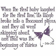 the beginning of faeries