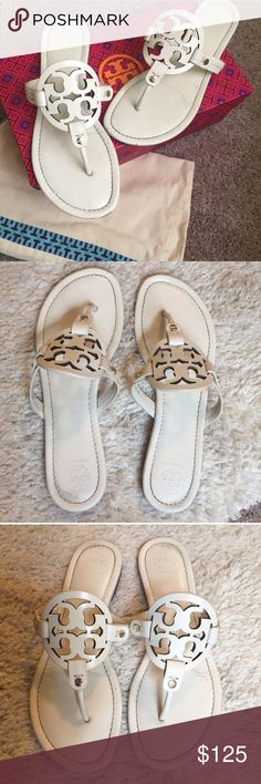 c82a82ad316d Tory Burch Miller Sandals Tory Burch Miller sandals in good condition