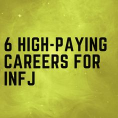 High Paying Careers For INFJ - Probably a bit late now Careers For Infj, High Paying Careers, Infj Mbti, Intj And Infj, Enfj, Introvert Personality, Myers Briggs Personality Types, Advocate Personality Type, Introvert Cat