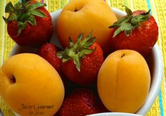How to Ripen, Peel, and Freeze Fresh Apricots by Jazzy Gourmet