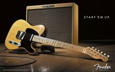 Fender Tele Guitar Wallpaper