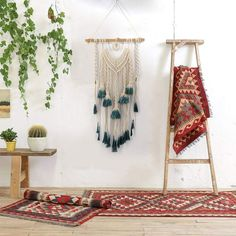 Handmade Tapestry Boho Wall Decor Textile - RestyledHomes  | Decorative accessories, decorative accessories living room, decorative accessories interior design, decorative accessories bedroom, decorative accessories diy, decorative accessories for shelves, decorative accessories modern, decorative accessories wall #decorativeaccessories #livingroom #interiordesign #bedroom #decorativeaccessoriesdiy #accessories #homeaccessories #homedecor #RestyledHomes
