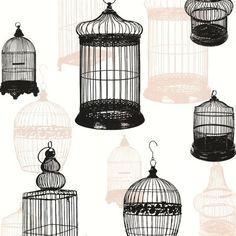 Avian Black Bird Cages