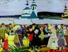 Boris Kustodiev 1878-1927 | Russian painter | Tutt'Art@ | Pittura * Scultura * Poesia * Musica |