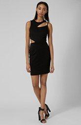 Topshop Splice Body-Con Dress
