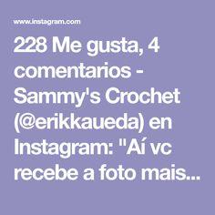 "228 Me gusta, 4 comentarios - Sammy's Crochet (@erikkaueda) en Instagram: ""Aí vc recebe a foto mais linda do mundo!!!! ❤️️❤️️❤️️ Melina, bebê linda de um sorriso encantador…"" Instagram, Crochet, Smile, I Like You, Cute, Ganchillo, Crocheting, Knits, Chrochet"