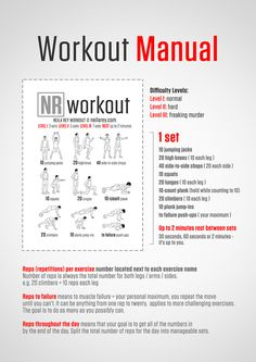 Neila Rey's Workout Manual great workout, three different levels