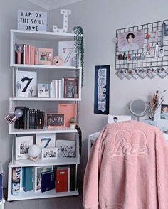 Room Design Bedroom, Room Ideas Bedroom, Bedroom Decor, Army Room Decor, Study Room Decor, Cute Room Ideas, Cute Room Decor, Aesthetic Room Decor, Dream Rooms