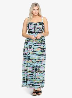Plus Size Maxi Dress #plussizefashion