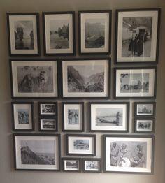 New Collage 155 x 170 cm - €500! Black and white photos incl. Frames / zwart wit foto's incl. Lijsten. Info: i.langenhof@hotmail.com