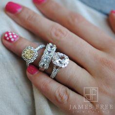 Henri Daussi Diamond Engagement Rings and Wedding Bands: James Free Jewelers