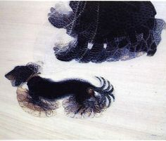 "Italian Futurism: Giacomo Balla, Dynamism of a Dog on a Leash, 1912, oil on canvas, 35 1/2 x 43 1/4 "" (Albright-Knox Art Gallery, Buffalo)"