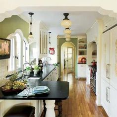 Kitchen with practical design and period detail | Photo: John Ellis | thisoldhouse.com |