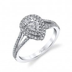 New Venetti 0.50 CTW Diamond Halo Ring Setting