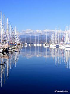 #Fethiye Marina in winter