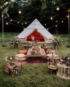 An Evening Wedding Inspiration Shoot with Bell Tents Festival Brides Party Deco, Bell Tent, Festa Party, Room Decor Bedroom, Event Decor, Glamping, Tent Camping, Event Design, Wedding Inspiration
