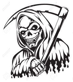 37604300-Tattoo-design-of-a-grim-reaper-holding-a-scythe-vintage-engraved-illustration--Stock-Vector.jpg (1145×1300)