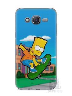Capa Capinha Samsung J5 Bart Simpson Skate - SmartCases - Acessórios para celulares e tablets :)