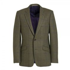 Purple and Blue Check Jacket