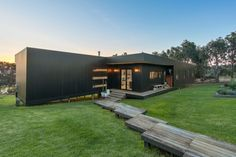 Stunning Sunday: Black modular home for sale