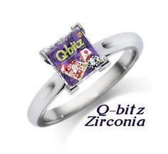 Q-bitz Zirconia. Another Peggy Brown Toy MashUp. She invented Q-Bitz, a game at Mindware. Check out other Toy MashUps on the Chicago Toy and Game Fair facebook page. :)