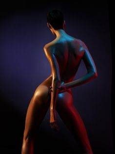 beautiful nude model Color of Night by George Mayer photography Photography Tours, Erotic Photography, Color Photography, Light Photography, Editorial Photography, Fashion Photography, Color Of Night, Body Gestures, Neon Girl