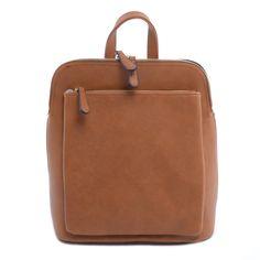 2c9e6056d4 BARNA NŐI MŰBŐR HÁTIZSÁK - Műbőr - Táska webáruház - Női táskák, Férfi  táskák,
