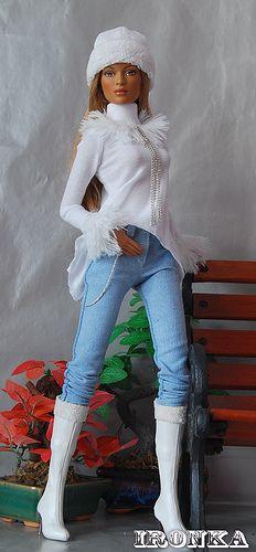 Me gusta la moda de Barbie