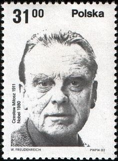 Stamp: C. Nobel Prize Winners, Stamp Collecting, My Stamp, Postage Stamps, Poet, Literature, Medicine, Polish, Technology