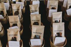 coffee favors | Thomas & Margaret | Jackson, MI Wedding — Gentleman & A Lady