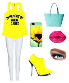 """I'm walking on sunshine"" by l4riss4 ❤ liked on Polyvore featuring Burberry, Kate Spade, Casetify, Maybelline, women's clothing, women's fashion, women, female, woman and misses"