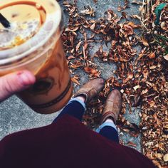 Boots and coffee