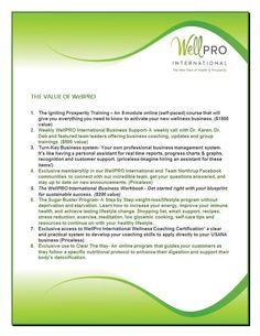 WellPro Value.docx