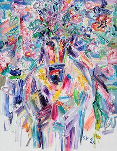 "Saatchi Online Artist Seok Young Kim; Painting, ""The valley spirit"" #art"
